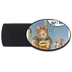 Wombat Woman 1Gb USB Flash Drive (Oval)