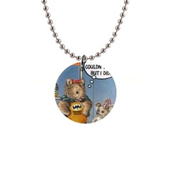 Wombat Woman Mini Button Necklace