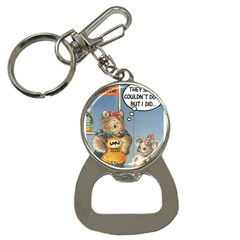 Wombat Woman Key Chain with Bottle Opener
