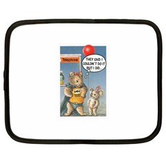 Wombat Woman 12  Netbook Case