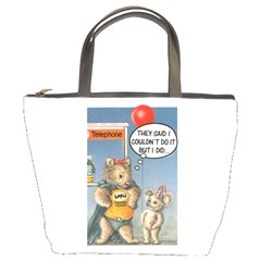 Wombat Woman Bucket Handbag