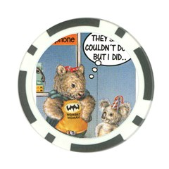 Wombat Woman 10 Pack Poker Chip