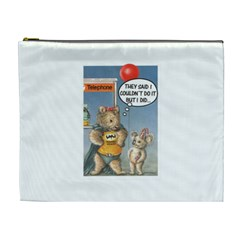 Wombat Woman Extra Large Makeup Purse
