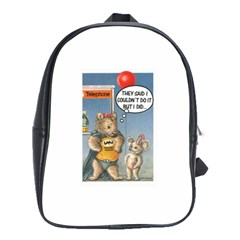 Wombat Woman Large School Backpack