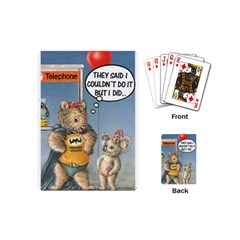 Wombat Woman Playing Cards (Mini)