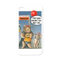 Wombat Woman White Apple Iphone 4 Case