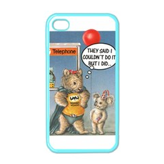 Wombat Woman Apple Iphone 4 Case (color)