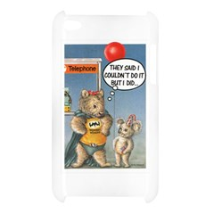 Wombat Woman Apple iPod Touch 4G Hardshell Case