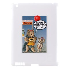 Wombat Woman Apple iPad 3/4 Hardshell Case (Compatible with Smart Cover)