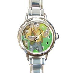Green Gold Swaggie Classic Elegant Ladies Watch (Round)