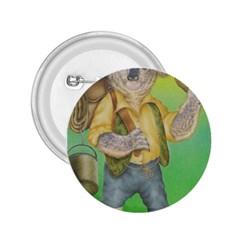 Green Gold Swaggie Regular Button (Round)