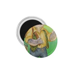 Green Gold Swaggie Small Magnet (Round)