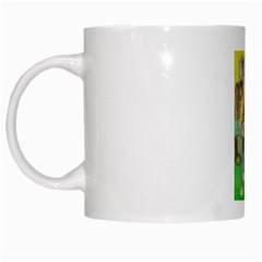Green Gold Swaggie White Coffee Mug