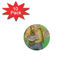 Green Gold Swaggie 10 Pack Mini Button (Round)