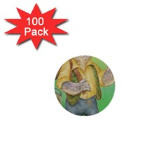 Green Gold Swaggie 100 Pack Mini Button (Round)
