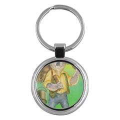 Green Gold Swaggie Key Chain (Round)