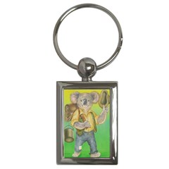 Green Gold Swaggie Key Chain (Rectangle)