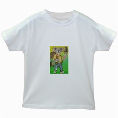 Green Gold Swaggie White Kids'' T-shirt