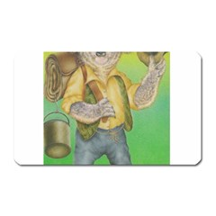 Green Gold Swaggie Large Sticker Magnet (rectangle)