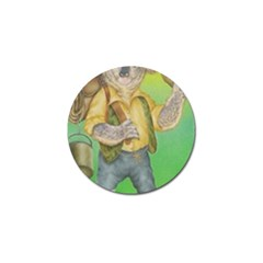 Green Gold Swaggie 10 Pack Golf Ball Marker