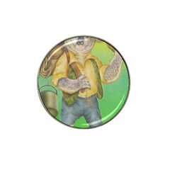 Green Gold Swaggie Golf Ball Marker (for Hat Clip)