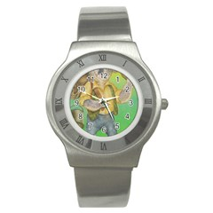 Green Gold Swaggie Stainless Steel Watch (round)