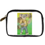Green Gold Swaggie Compact Camera Case Front