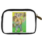 Green Gold Swaggie Compact Camera Case Back