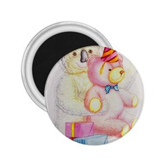 Koala And Bear  Regular Magnet (Round)