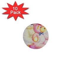 Koala And Bear  10 Pack Mini Button (Round)