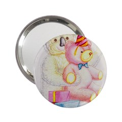 Koala And Bear  Handbag Mirror