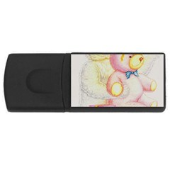Koala And Bear  4Gb USB Flash Drive (Rectangle)