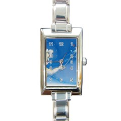 Santa Wand koala Classic Elegant Ladies Watch (Rectangle)