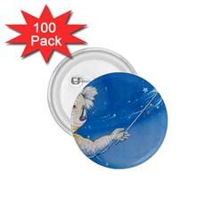 Santa Wand koala 100 Pack Small Button (Round)