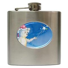 Santa Wand Koala Hip Flask