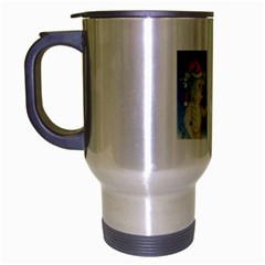 Santa Wand Koala Brushed Chrome Travel Mug