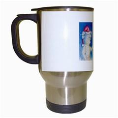 Santa Wand Koala White Travel Mug