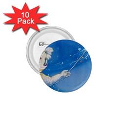 Santa Wand Koala 10 Pack Small Button (round)