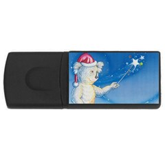 Santa Wand koala 2Gb USB Flash Drive (Rectangle)