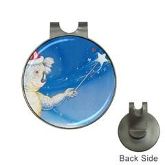 Santa Wand Koala Hat Clip With Golf Ball Marker