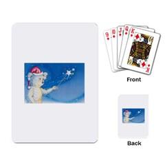 Santa Wand koala Standard Playing Cards