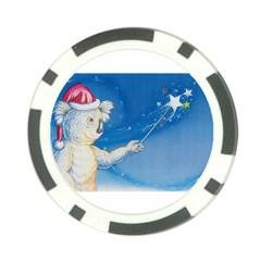 Santa Wand koala 10 Pack Poker Chip