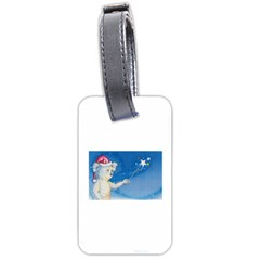 Santa Wand koala Single-sided Luggage Tag