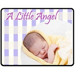 Double Sided Fleece Blanket (Medium)