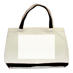 Twin-sided Black Tote Bag