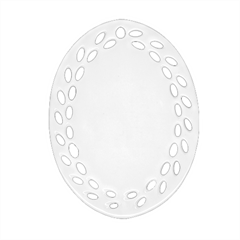 Oval Filigree Ornament