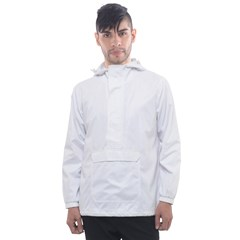 Men s Front Pocket Pullover Windbreaker