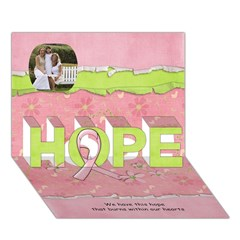 HOPE 3D Greeting Card (7x5)