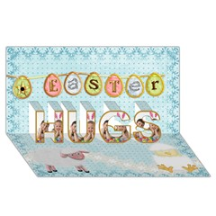 HUGS 3D Greeting Card (8x4)