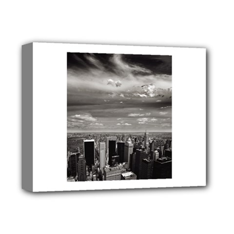 New York Deluxe Canvas 14  X 11  (stretched) by artposters